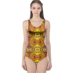 Roof555 One Piece Swimsuit