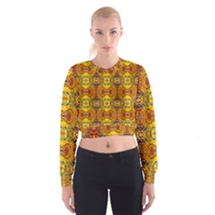 Roof555 Women s Cropped Sweatshirt