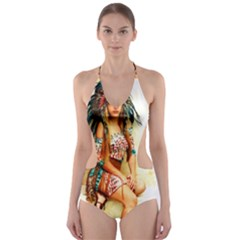 Indian 15 Cut-Out One Piece Swimsuit