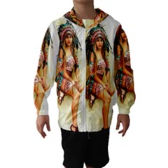 Indian 15 Hooded Wind Breaker (kids)