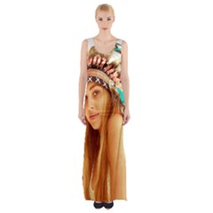 Indian 27 Maxi Thigh Split Dress