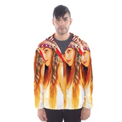 Indian 26 Hooded Wind Breaker (men)