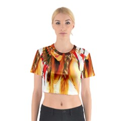 Indian 26 Cotton Crop Top