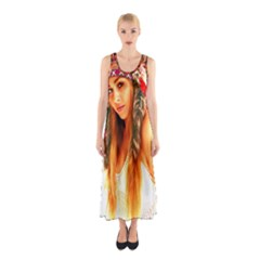 Indian 25 Full Print Maxi Dress