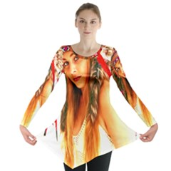 Indian 25 Long Sleeve Tunic