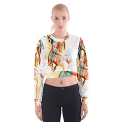 Indian 18 Women s Cropped Sweatshirt