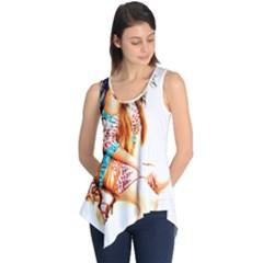 Indian 18 Sleeveless Tunic