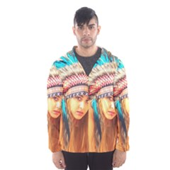 Indian 14 Hooded Wind Breaker (Men)