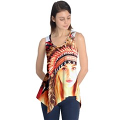 Indian 3 Sleeveless Tunic