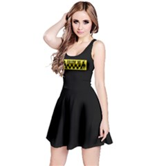 Followme Usedlook Sign Reversible Sleeveless Dress