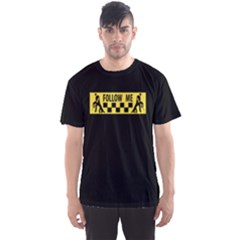 Followme Usedlook Sign Men s Sport Mesh Tee