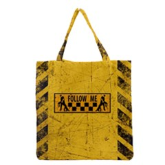 FOLLOW ME used look Grocery Tote Bags