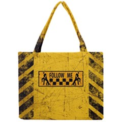 FOLLOW ME used look Tiny Tote Bags