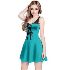 Zouk Blue Moon Reversible Sleeveless Dresses