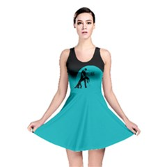 ZOUK BLUE MOON Reversible Skater Dresses