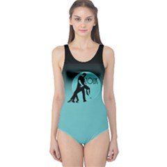 ZOUK BLUE MOON One Piece Swimsuit