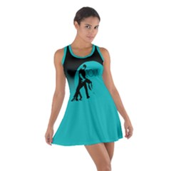 Zouk Blue Moon Cotton Racerback Dress