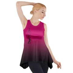 Zouk Side Drop Tank Tunic
