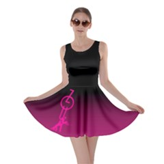 ZOUK pink/purple Skater Dresses