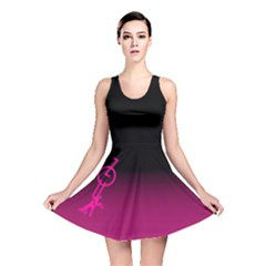 ZOUK pink/purple Reversible Skater Dresses