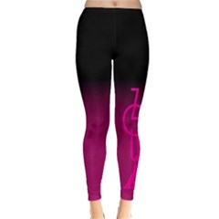ZOUK pink/purple Winter Leggings