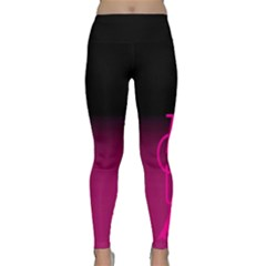 ZOUK pink/purple Yoga Leggings
