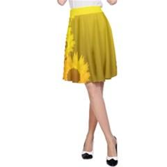 SUNFLOWER A-Line Skirt