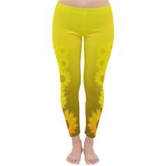 Apparel - sunflower Winter Leggings