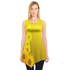 SUNFLOWER Sleeveless Tunic