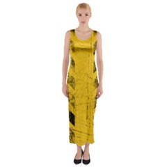 WEATHERING Fitted Maxi Dress