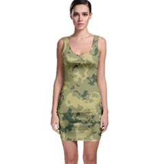 GreenCamouflage Bodycon Dresses