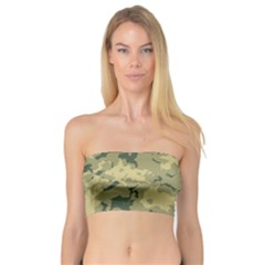 Greencamouflage Women s Bandeau Tops