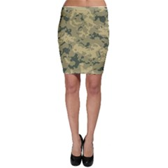Greencamouflage Bodycon Skirts