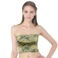 GreenCamouflage Women s Tube Tops