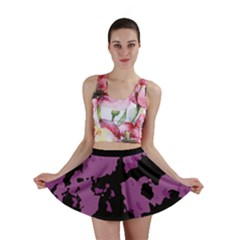 PINK CAMOUFLAGE Mini Skirts