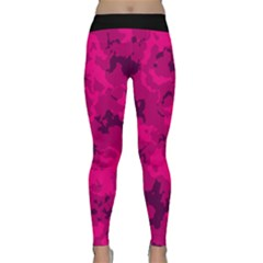 Pink Tarn Yoga Leggings