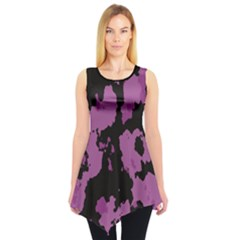 PINK CAMOUFLAGE Sleeveless Tunic