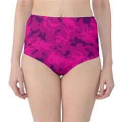 Pink Tarn High Waist Bikini Bottoms