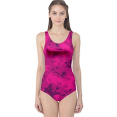 Pink Tarn One Piece Swimsuit