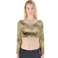 Deserttarn Long Sleeve Crop Top