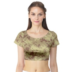DesertTarn Short Sleeve Crop Top