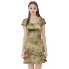 Deserttarn Short Sleeve Skater Dresses
