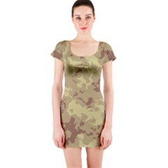 Deserttarn Short Sleeve Bodycon Dresses
