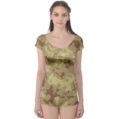 Deserttarn Short Sleeve Leotard