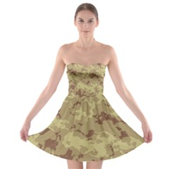 DesertTarn Strapless Bra Top Dress