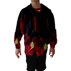 Roses 1 Hooded Wind Breaker (kids)
