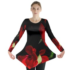 Roses 1 Long Sleeve Tunic