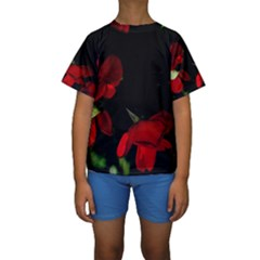 Roses 2 Kid s Short Sleeve Swimwear