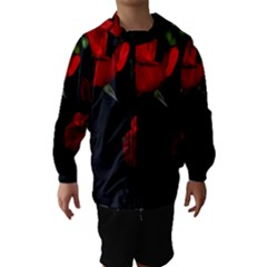 Roses 3 Hooded Wind Breaker (kids)