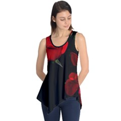 Roses 3 Sleeveless Tunic